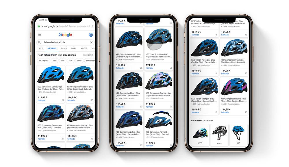 madeone-custom-lister-overtake-google-shopping-feed
